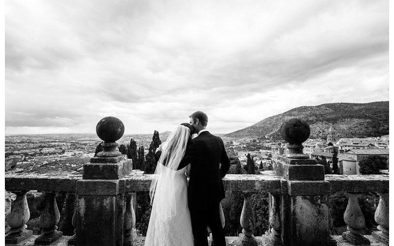 Tivoli Villa d'Este wedding in italy