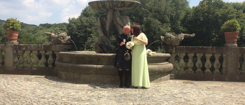 Civil wedding Ariccia