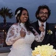 pritika and davide at their italian wedding