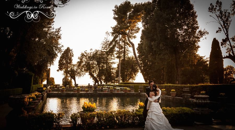 South American wedding in Rome
