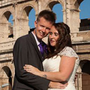 British church wedding rome