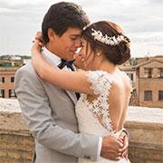Colombian Church Wedding Rome